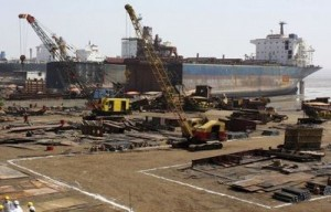 Alang Ship Breaking Yard