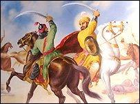 Saurashtra old War