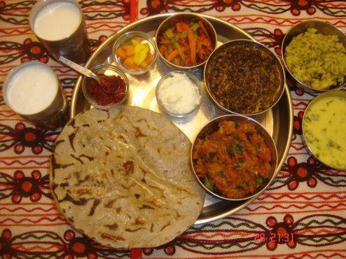 Kathiyawadi Thali