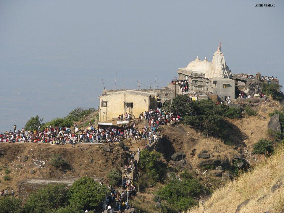 Mata Ambaji Temple Girnaar Mountain Junagadh