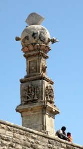 Pillar in Somnath Temple