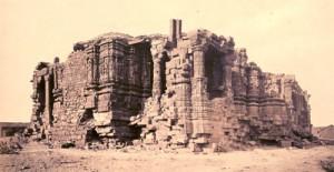 Broken Somnath Temple