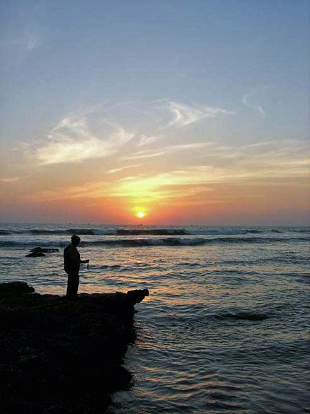 Sunset at Veraval Beach