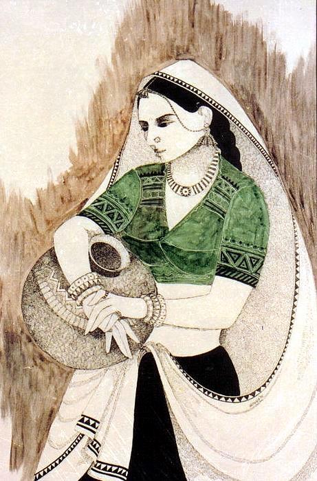 Woman of Kathiyawad Saurashtra