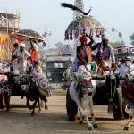 Tarnetar Fair Bull Cart Race