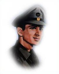 late 2nd Lieutenant Nagajan Sisodia - 314 Gurkha Regiment